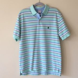 NWOT Brooks Brothers Striped Polo